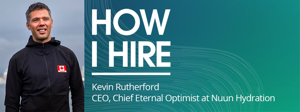 Kevin Rutherford, CEO, Chief Eternal Optimist, at Nuun Hydration